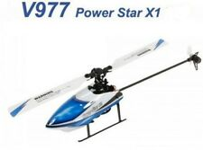Top RC Helikopter WLtoys V977 Brushless  BNF (ohne Fernsteuerung) 6CH  3D