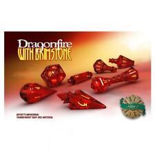 PolyHero Dice: Wizardstone Dragonfire Brimstone Dice Set (7)
