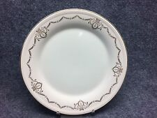 "(1) Edwin M Knowles Adams Pattern Gold Swag 10"" Dinner Plate"