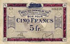 Ro 860a 5 Francs 1923-1930