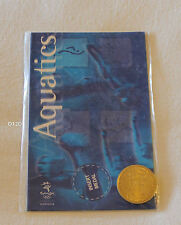 Aquatics Swimming Sydney 2000 Olympic Games Shell Commemorative Medallion New