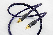 DH Labs Silver Sonic Glass Master Toslink 2 meter Glass Optical Cable