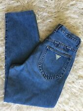"Vintage 90's Guess High Waisted Jeans Waist 29"" Rise 12"" Made In USA Wedgie"