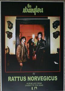 THE STRANGLERS RATTUS NORVEGICUS POSTER