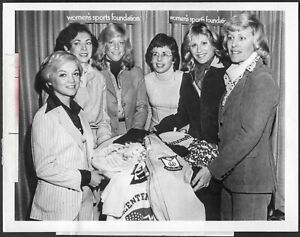 ~ Billie Jean King Cathy Rigby 1970s Original ABC-TV Promo Photo Women's Sports