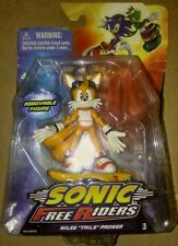 "Sonic Free Riders Action Figure Miles Tails Prower Sega Toy 3.5"" NEW free shpg!"
