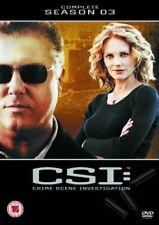 CSI - Crime Scene Investigation - Complete Season 3 NEW SEALED REGION 2 DVD PAL