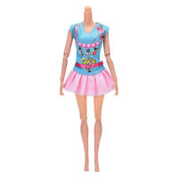 Newest Doll Dress Beautiful Party Clothes Top Fashion Dress For  Doll UK