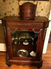 Vintage Small French Pier Cabinet Vitrine
