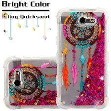 Samsung GALAXY J3 Prime Sol 2 Bling Hybrid Liquid Glitter Rubber Hard Case Cover