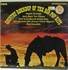 "12"" Vinyl LP Record. Country Roundup Of The Big Pop Hits. 1971 RCA  INTS 1051."
