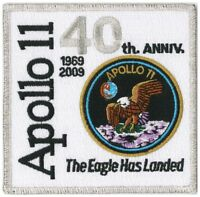 NASA PATCH 4-inch APOLLO 11 - 40th Anniversary - EAGLE Has Landed Neil Armstrong