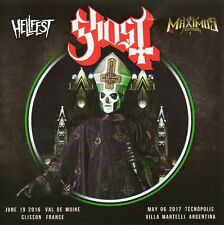GHOST - LIVE AT HELLFEST 2016 / MAXIMUS FESTIVAL 2017 - 2 CD - SOUNDBOARD - NEW