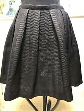 Marccain Black Skirt Size N2/uk10
