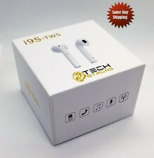 I9S TWS Wireless Bluetooth Earbuds Headphones iPhone & Android USA