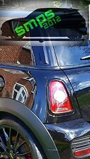 Mini MK2 Cooper S JCW R56 R57 R58 R59 Tail light covers gloss Black 2006 - 2013