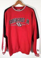 Nascar Chase Authentics Dale Earnhardt Jr. Budweiser Racing 8 Sweatshirt Vtg 2XL
