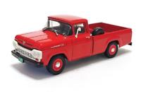 Ford F-100 (1959) Diecast 1:43 Autos inolvidables Arg Rare + Magazine