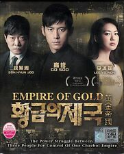 EMPIRE OF GOLD KOREAN TV DRAMA (6 DVD) NTSC 0 REGION EXCELLENT ENG SUB BOX SET