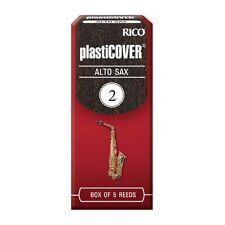 Rico Plasticover 2.0 Strength Reeds for Alto Sax Pack of 5