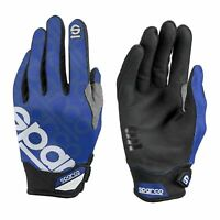 Sparco Mechaniker Handschuhe MECA-3 blau Größe 9