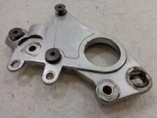 99-02 Buell X1 Lightning Driver Right Peg Bracket Removable Side Plate Silver