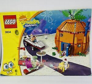 LEGO 3834 Spongebob Squarepants Bikini Bottom Instructions Free Shipping