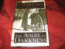 The Angel of Darkness by Caleb Carr (1997, Hardcover) 1ED SIGNED