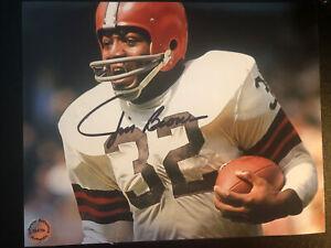Jim Brown Signed Photo (COA)