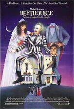 Beetlejuice (1988) Movie Poster Tim Burton Sandworms Art Wall 24X32 Inch