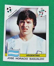 N°126 BASUALDO ARGENTINA PANINI COUPE MONDE FOOTBALL ITALIA 90 1990 WC WM
