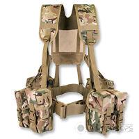 PLCE WEBBING  6 PIECE BTP MULTICAM MTP ISSUE STYLE SET ARMY AFGHAN BRITISH CADET