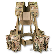 PLCE WEBBING  6 PIECE BTP MULTICAM MTP ISSUE STYLE SET ARMY AFGHAN BRITISH CADET