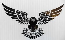 Eagle wings spread birds animals stickers/car/van/bumper/window/decal 5340 BlacK