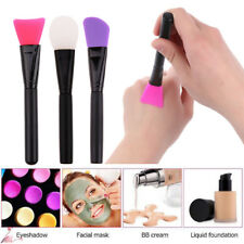 3Pcs Professional Face Facial Mud Mask Silicone Brush Skin Care Beauty Makeup