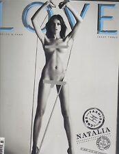 NATALIA VODIANOVA UK Love Magazine Spring 2010 #3 DARIA WERBOWY AMBER VALLETTA