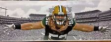 "NFL Green Bay Packers CLAY MATTHEWS (19"" x 62"") Canvas Print (NOT FRAMED)"