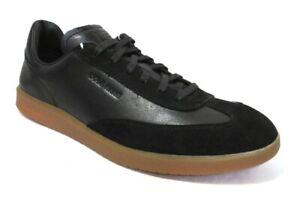COLE HAAN GrandPrø Turf Men's Black Leather Sneaker, #C29162