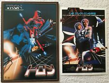 Tron Movie Program Book 1982 w/ Flyer set Jeff Bridges Bruce Boxleitner Japan FS