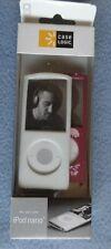 Set Of 2 Case Logic iPod Nano Slim Cover Case iPod Nano 4G 8GB 16GB White Pink