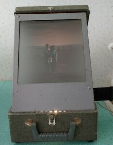 Slide Projector Viewer Unbranded Handmade Large Screen