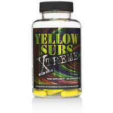 Yellow Subs Xtreme 100Kaps Power Energy Fat Burning Fettverbrennung Unisex
