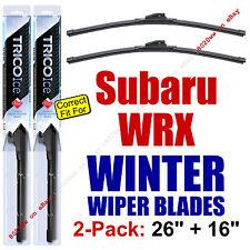 WINTER Wiper Blades 2-Pack Premium - fit 2013+ Subaru WRX - 35260/160