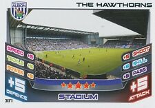 N°307 THE HAWTHORNS STADIUM WEST ALBION TRADING CARD MATCH ATTAX TOPPS 2013