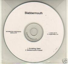 (K25) Blabbermouth, Something I Need - DJ CD