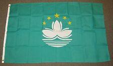 MACAU CHINA FLAG 3X5 FEET MACANESE 3'X5'  F761