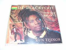 DJ BLACKFOOT ft. SHANTI - RUN THINGS 3tr. CD MAXI 1993