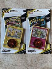 Pokemon TCG Sun & Moon TEAM UP booster Pack Pikachu & Mimikyu Blister Card