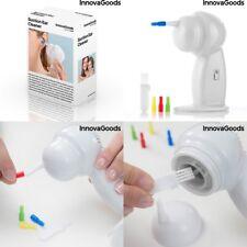 Limpiador de oidos con 4 puntas intercambiables + pequeño cepillo de limpieza