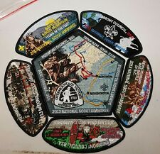 2013 Jamboree Piedmont Council JSP CP Set - Blk Borders BSA BOY SCOUT